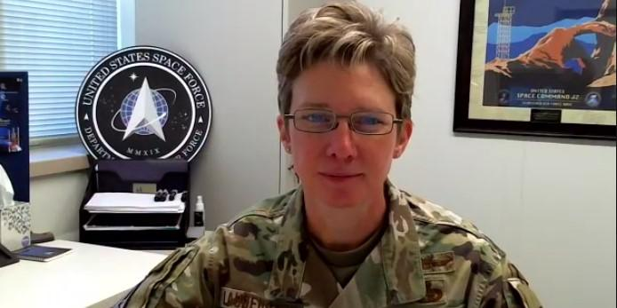 Maj. Gen. Leah Lauderback, USAF, sees the U.S. Space Force's membership into the intelligence community as a key step for the year-old service.