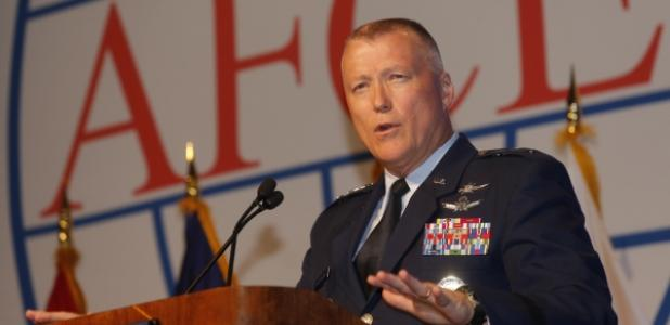 Lt. Gen. James McLaughlin, USAF, deputy commander, U.S. Cyber Command, kicked off the second day of the AFCEA Defensive Cyber Operations Symposium in Baltimore, during which military officials highlighted the importance of command and control in defending cyberspace.