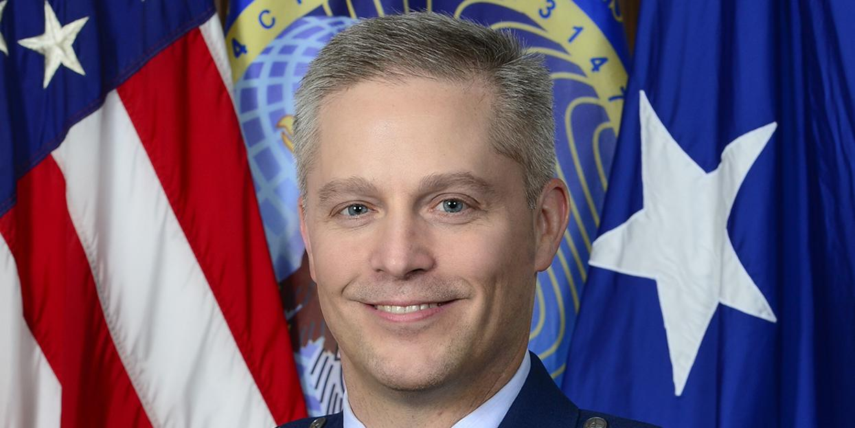 Once approved for his new role as commander of the Air Force's new information warfare Numbered Air Force, Maj. Gen. Haugh will be the Air Force's representative to the U.S. Cyber Command, among other roles.  Photo Credit: U.S.  Air Force