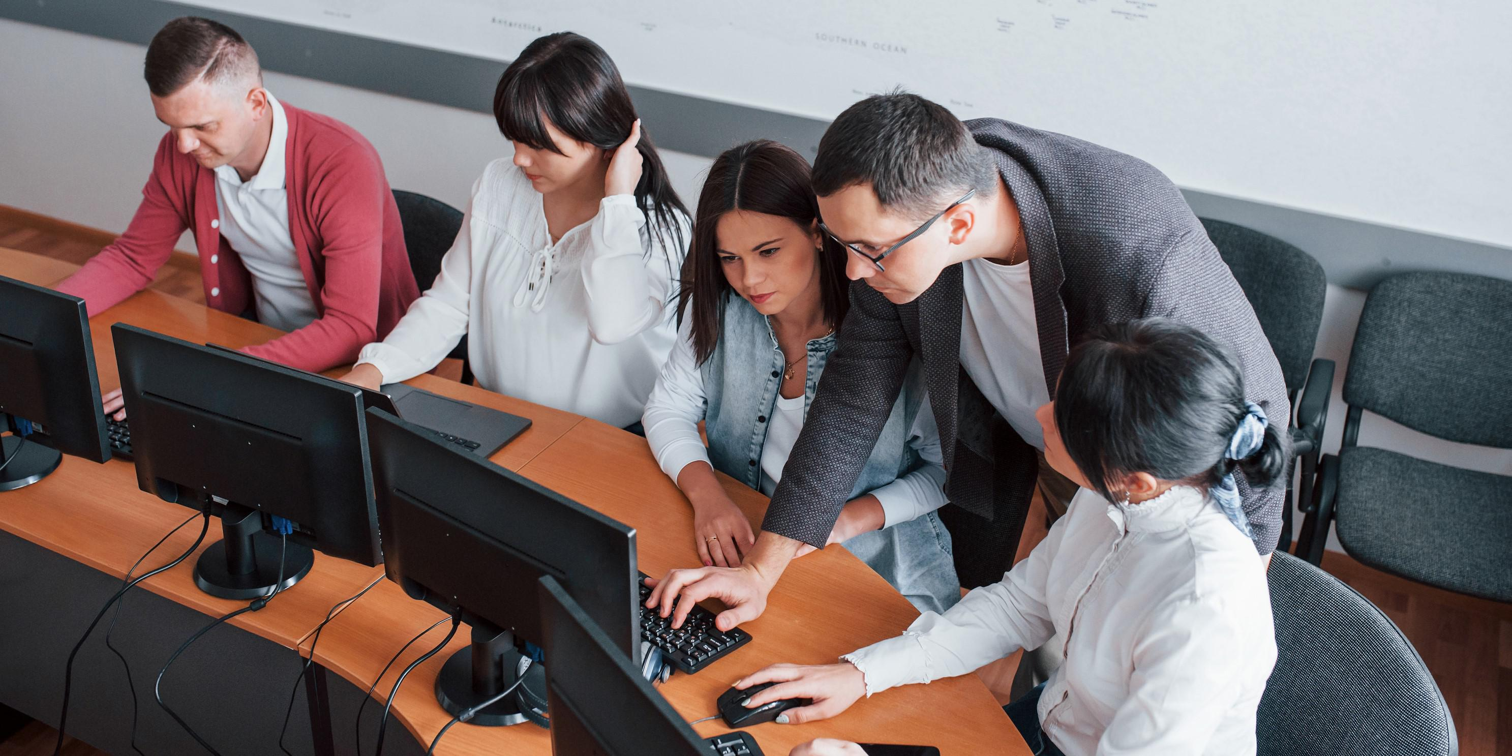 Workforce development must include education and training for cyber readiness.  Envato/mstandret
