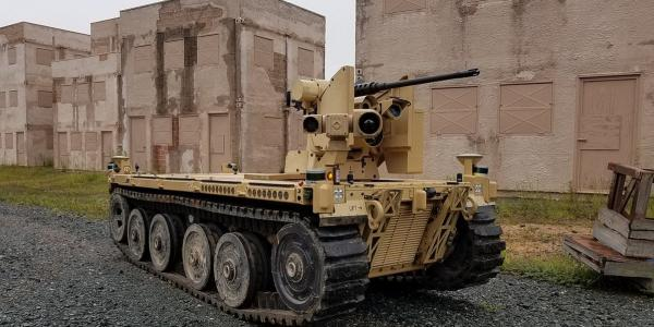 The U.S. Marine Corps' Expeditionary Modular Autonomous Vehicle (EMAV) is a versatile, fully autonomous ground vehicle designed to provide tactical-scale infantry support at the platoon level.  U.S. Marine Corps Warfighting Lab