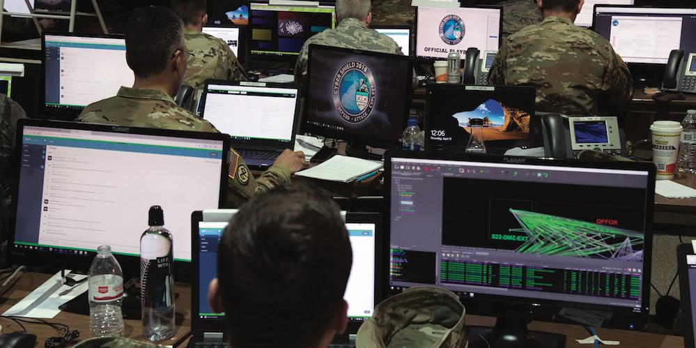 Training sessions, such as Cyber Shield 19, provide cybersecurity analysts opportunities to train, exchange best practices and test their cyber mettle. Credit: Army Staff Sgt. George B. Davis