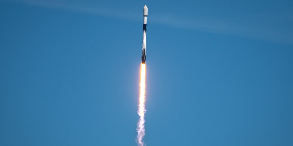 A Falcon 9 rocket carrying SpaceX's Starlink L-23 payload launches from Cape Canaveral Space Force Station, Florida, April 7. As the United States increases its posture in space, it needs better space intelligence to support its missions, experts say. Credit: U.S. Space Force photo by Airman First Class Thomas Sjoberg