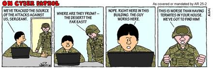 On Cyber Patrol