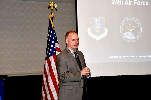 Cole discusses cyber strategy during the chapter's October