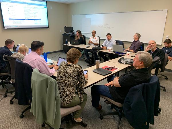 The chapter board of directors sets goals and collaborates on new ideas and initiatives for the upcoming year. The January off-site allowed board members to discuss future plans, programs and training in-depth while strategizing on the way ahead for the chapter.
