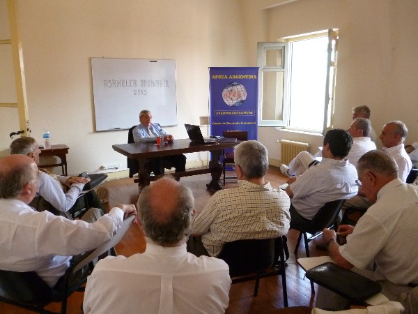 In December, the chapter holds its annual meeting at the Military Circle in Buenos Aires.