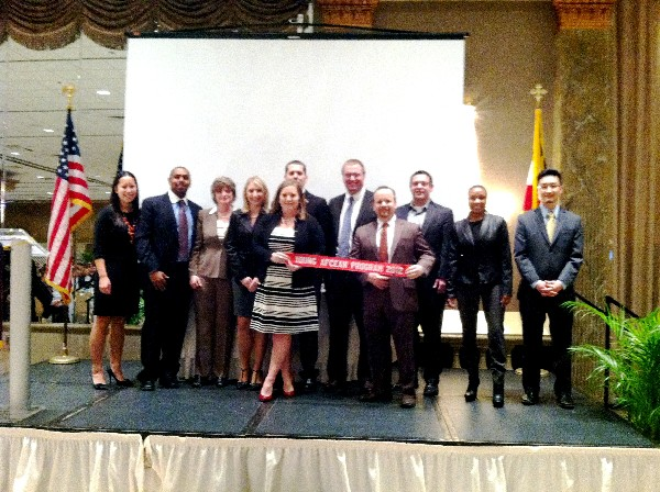 In February, the chapter celebrates its Young AFCEAN Program Award for 2012.