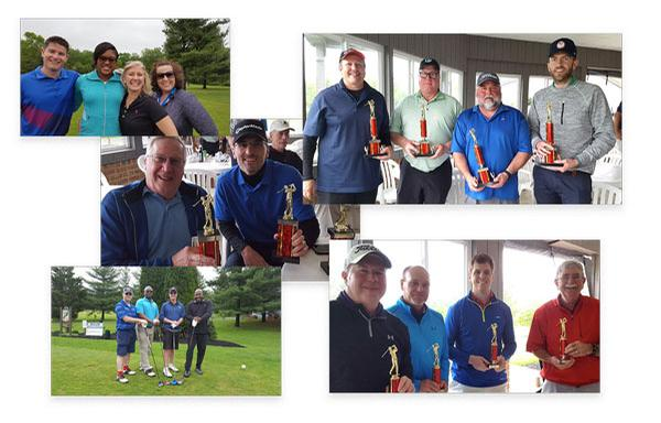 In May, the chapter honors finishers of its annual spring golf tournament from Lockheed Martin, SAIC and Leidos.
