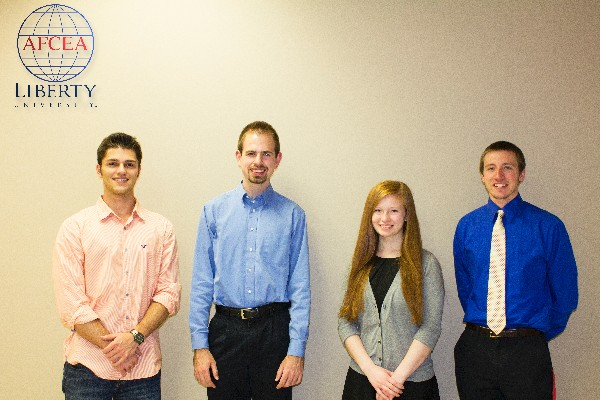 In September, the chapter presents STEM Awards to Liberty University winners.