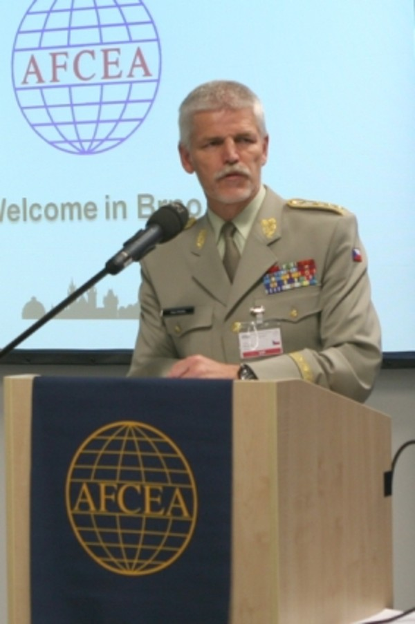 Gen. Pavel speaks about his personal experience with cyber attack during the chapter�s ITTE Conference and Exhibition in May.