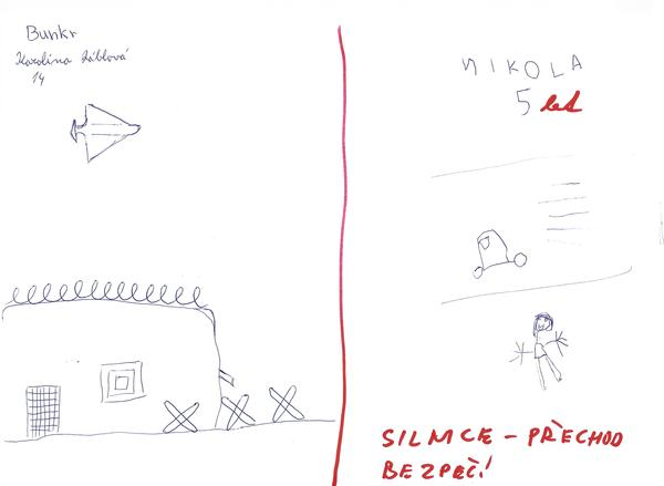 Children drew what their definitions of