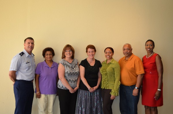The chapter recognizes scholarship recipients at its September luncheon.