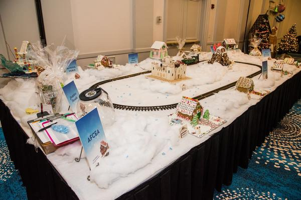 AFCEA Gingerbread Village Sponsorship at the December Gingerbread Ball.
