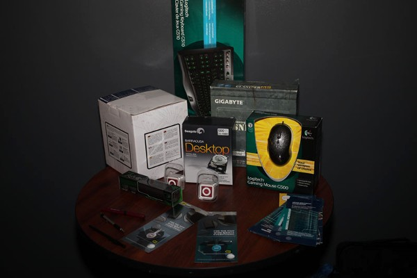 In October, the chapter procured prizes and giveaways for participants of the LAN Party with assistance for the chapter board of directors and the businesses they represent.