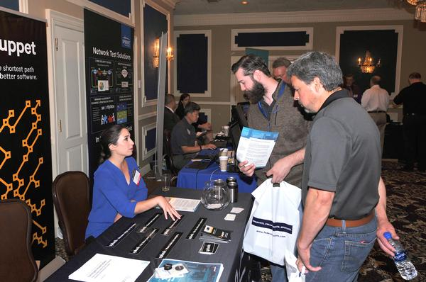 The chapter partnered with NCSI to hold the Industry Day and Technology Showcase in May at Offutt Air Force Base's Patriot Club.  