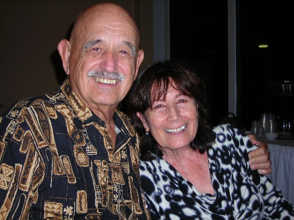 At the chapter's 60th anniversary celebration in October, it also wished a happy 55th wedding anniversary to Bob and Letizia Ventura.