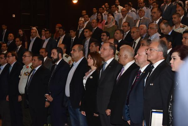 Around 500 participants from the Jordan Armed Forces, the General Intelligence Department, academia and industry attend the inauguration of the first AFCEA chapter in the Middle East in July.