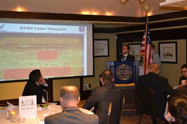 Kevin Stamey, SES, director, engineering and technical management, Air Force Life Cycle Management Center (AFLCMC)/EN-EZ, discusses trends in cyber and risks to weapons systems in November.
