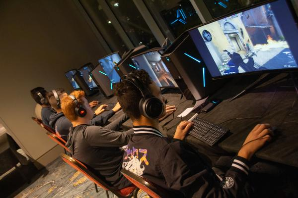 In August, competitors battle it out during Counter-Strike: Global Offensive 5v5 eSports tournament.