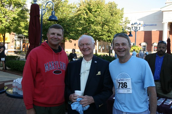 Chapter leaders gather in September at the inaugural 5k event benefiting veterans scholarship.