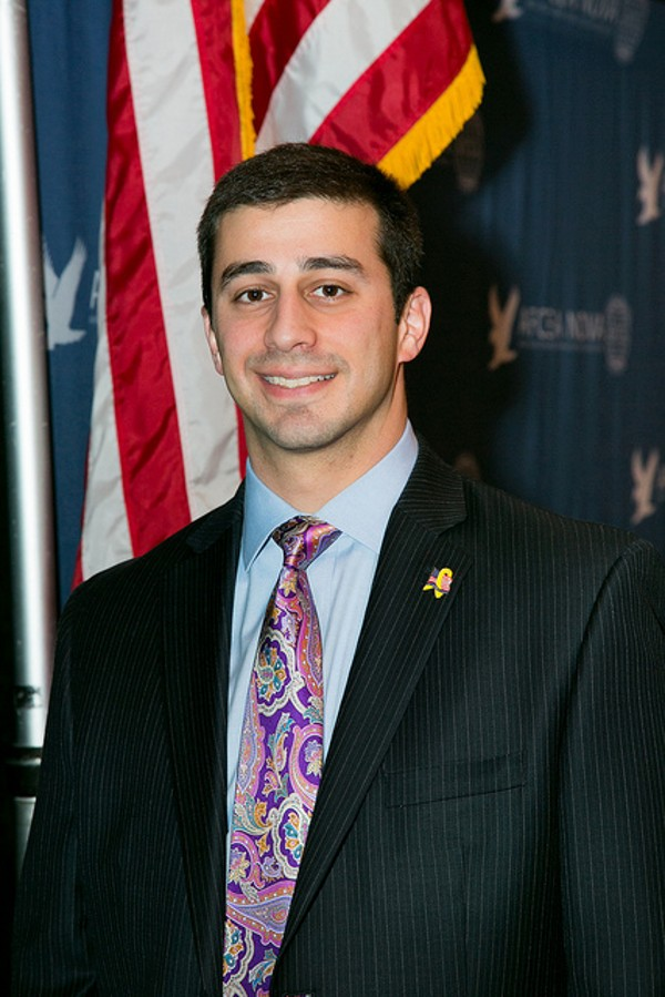 Artin Boghozian receives the Young AFCEAN of the Month Award for February.