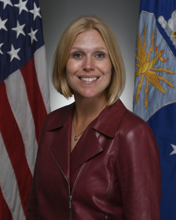 The morning keynote speaker is Lauren Knausenberger, deputy chief information officer, U.S. Air Force, for the December event.