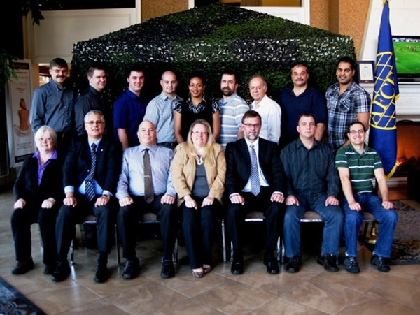In November, the chapter hosted its annual IT Security Course.