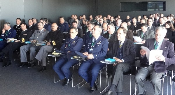The chapter event on cloud computing organized in December at the Portugal Telecom data center in Covilha draws a large audience.