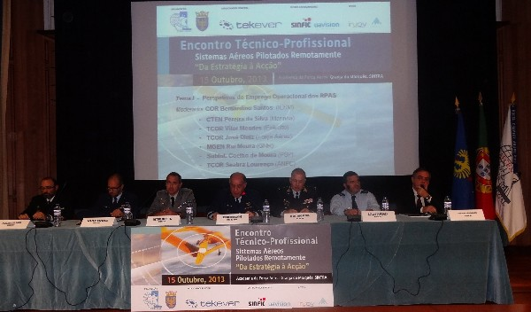 In October, representatives of the Portuguese armed forces, security forces and civil protection services present their perspectives on the operational employment of remotely piloted aircraft systems.