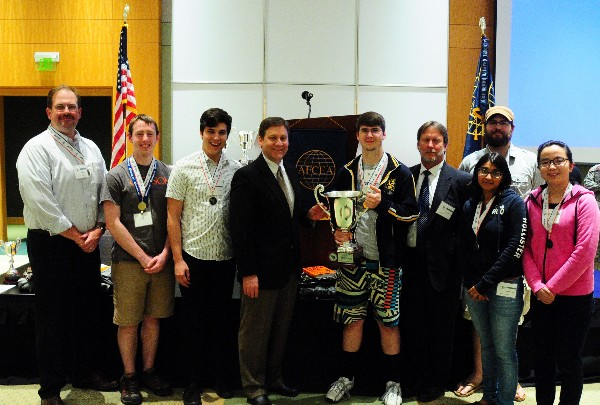In April, Clemson University wins the Collegiate Division of the Palmetto Cyber Defense Competition.