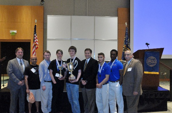 Florence Career Center wins the High School Division of the Palmetto Cyber Defense Competition in April.