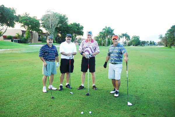 Members of the chapter enjoy the annual AFCEA Golf Tournament at the Country Club of Miami in September.