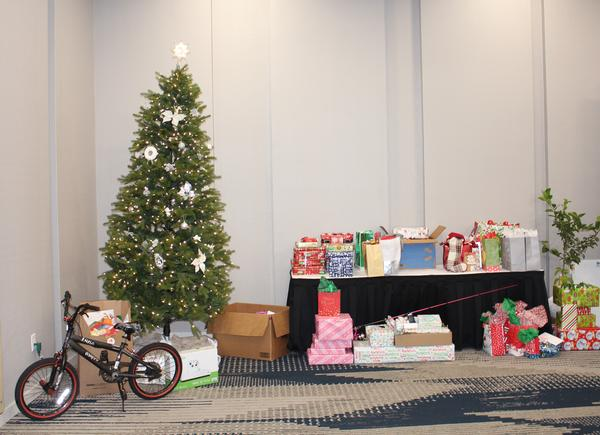 Each December, the chapter collaborates with Hope Children's Home to provide gifts for the children.