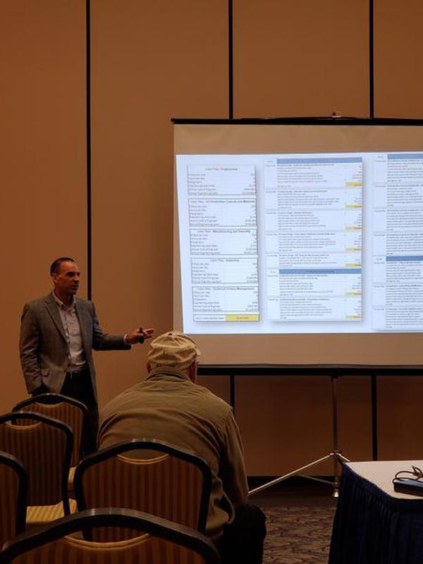 Joe Riel with 3DS/Solidworks presented The Value of Model-Based Definition at the Hill Air Force Base Technology Expo, Layton, Utah, in March.