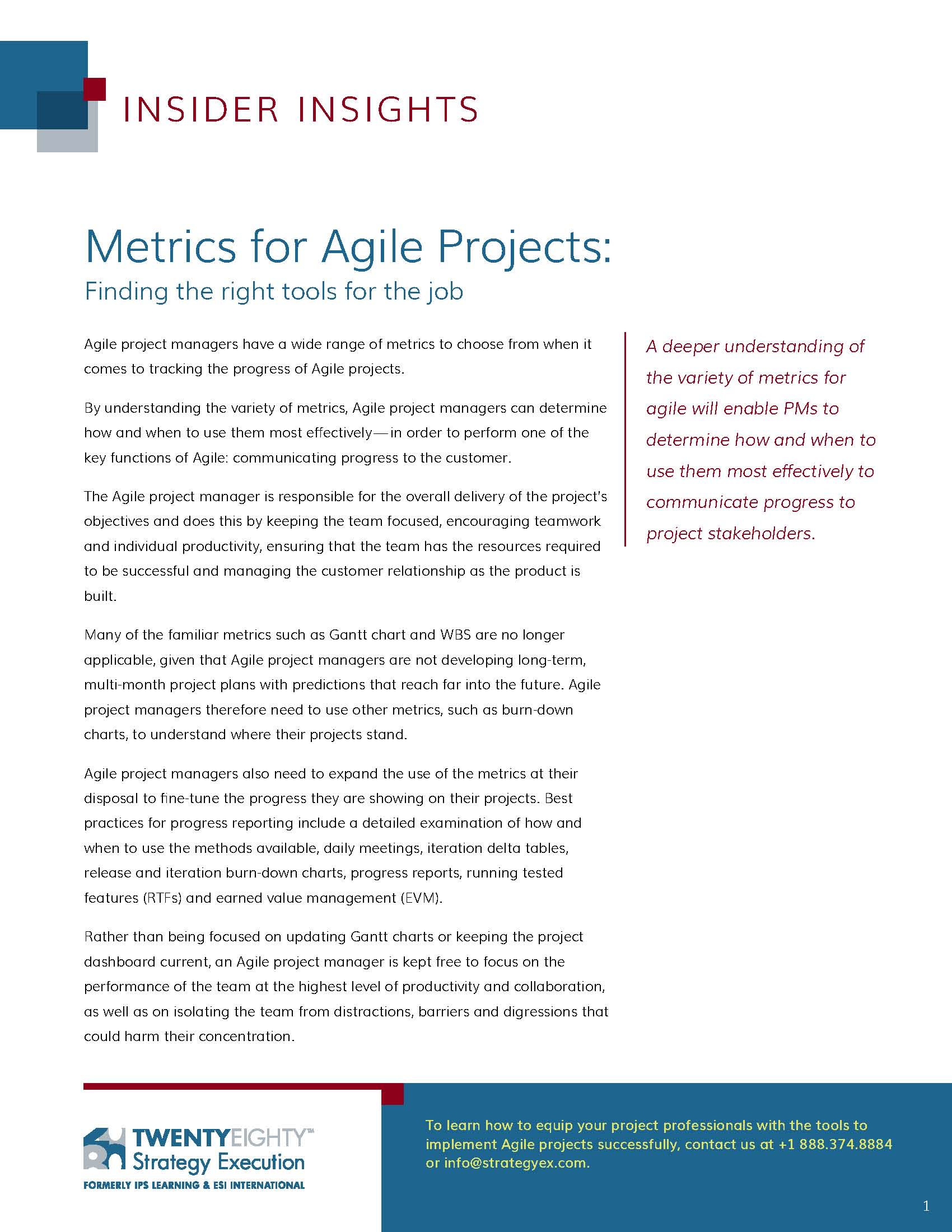 which metric does a project manager have most control ove Most of us know how to tout the organizational benefits of our ideas or plans  goal or project to individual goals and values.